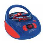 Lexibook Radio CD player Spider Man Leitor de CD portátil Azul, Vermelho