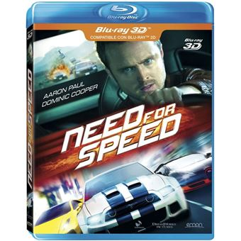 Need For Speed (3D + 2D) (2Blu-ray)