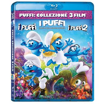 Universal Pictures The Smurfs: The Smurfs, The Smurfs 2, The Smurfs: The Lost Village Blu-ray 2D Multiligue