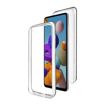 Capa 360º dmobile para Samsung Galaxy A21s   Frente e Verso   Dupla   Silicone / Gel