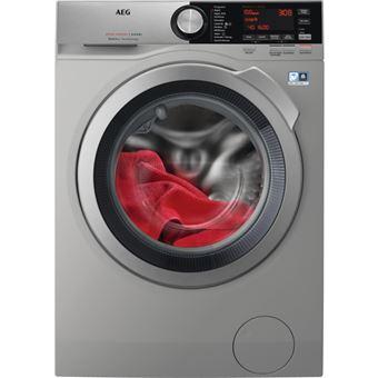 Máquina de Lavar e Secar Roupa Carga Frontal AEG L8WEC162S 10Kg A Prateado