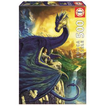 Puzzle Eragon and saphira 500 Peças