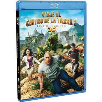 Viaje Al Centro De La Tierra 2 Blu-Ray 3D Journey 2: The Mysterious Island
