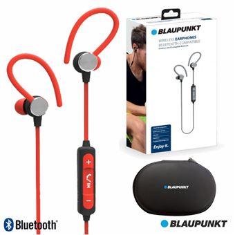 Auscultadores Bluetooth Blaupunkt sem Fios Stereo Bat Vermelho