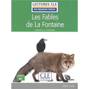 Les Fables De La Fontaine - Niveau 2A2 - Livre  Cd Audio