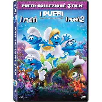 Universal Pictures The Smurfs: The Smurfs, The Smurfs 2, The Smurfs: The Lost Village DVD 2D Multiligue