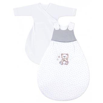 Julius Zöllner 9122214240 saco manta para bebé Rosa, Branco