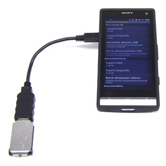 Cabo Micro USB OTG BeMatik para Smartphones