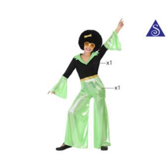 Disfarce Atosa T1 Menina Verde Disco