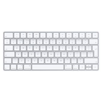 Teclado Wireless Apple Magic Keyboard Prateado