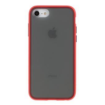 Capa Magunivers TPU Fosco 2 em 1 Vermelho para iPhone 8/7/6/6S