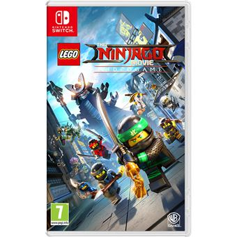 The LEGO NINJAGO Movie Videogame Switch