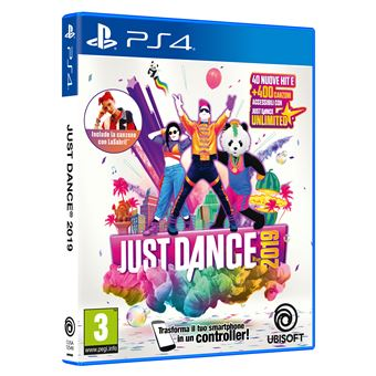 Just Dance 2019, Playstation 4 PS4