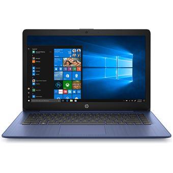 "Portátil HP 14-ds0006nl A4-9120E 64GB 14"" Azul"