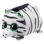 TY Zilla Zebra de brincar Pelúcia Preto, Verde, Branco