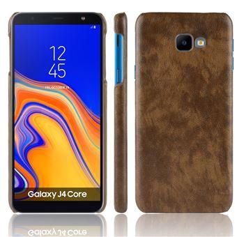 Capa Magunivers PU hard café para Samsung Galaxy J4 Core