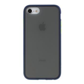 Capa Magunivers TPU Fosco 2 em 1 Azul Escuro para iPhone 8/7/6/6S