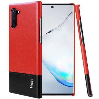 Capa Magunivers TPU + PU Vermelho/Preto para Samsung Galaxy Note 10