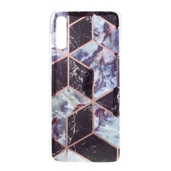 Capa Magunivers | TPU padrão geométrico em mármore IMD estilo A para Samsung Galaxy A50/A50s/A30s