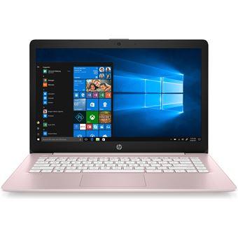 "Portátil HP 14-ds0007nl A4-9120E 64GB 14"" Rosa"