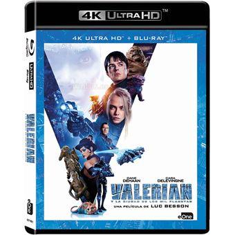 Valerian and the City of a Thousand Planets (4K Ultra HD) / Valerian y la Ciudad de los Mil Planetas (2Blu-ray)