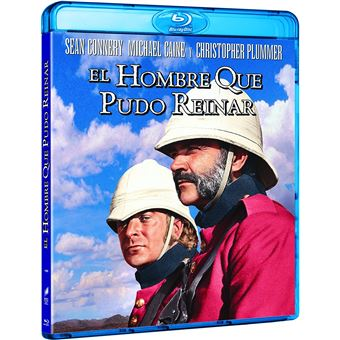 The Man who would be King / El Hombre Que Pudo Reinar (Blu-ray)