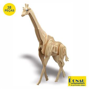 Girafa Modelismo Donau Painéis de Contraplacado com 38 Peças