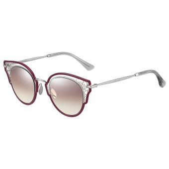 dfb9be349a19d Óculos de Sol Jimmy Choo Dhelia S BROWN SM SLV - Óculos de Sol Feminino -  Compra na Fnac.pt