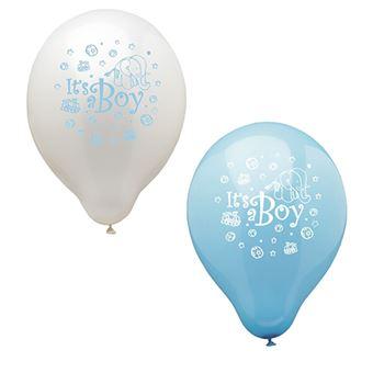 Papstar 19345 balão de brincar Azul e Branco