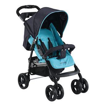 Carrinho Knorr-Baby V-Easy Fold Happy Colour All-terrain stroller 1 lugar(es) Preto, Azul