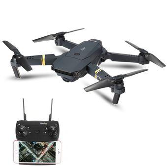 Drone Eachine E58 WiFi FPV RTF Câmara 2MP - Dobrável Preto