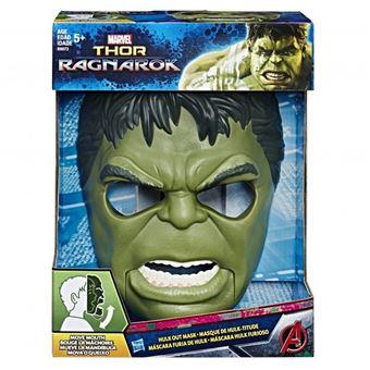 Mascara Hulk Hasbro Avengers Thor Ragnarok Expressiva