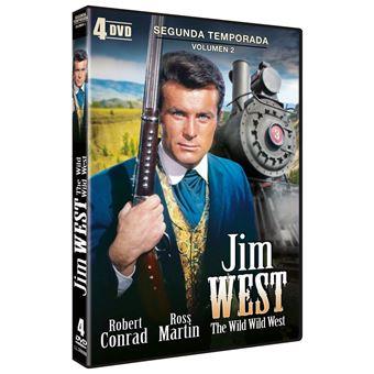 Jim West (The Wild Wild West 1965) - Temporada 2 Parte 2  (4DVD)