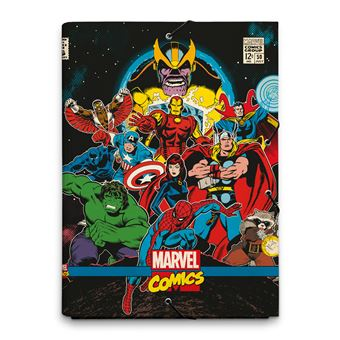 Pasta Solapas Marvel Comics Avengers