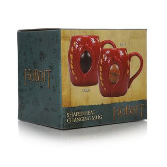 Caneca 3D Termocolor The Hobbit Smaug