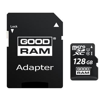 cartão de memória Goodram M1AA 128GB MicroSDXC UHS-I Class 10  Preto
