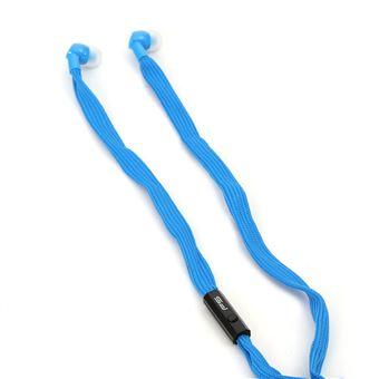 Auricular Omega FreeStyle Com fios Azul
