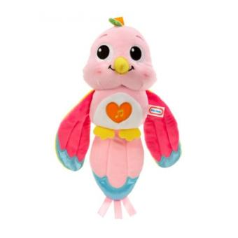 Peluche Little Tikes Lullaby Lovebird - Pink Ciano e Rosa