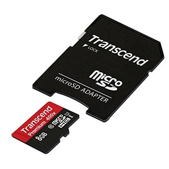 Transcend - 8GB microSDHC Classe 10 UHS-I