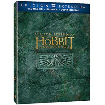 The Hobbit: The Deslation of Smaug (3D + 2D) / El Hobbit: La Desolacion de Smaug (5Blu-ray)