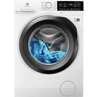 Máquina de Lavar e Secar Roupa Carga Frontal Electrolux EW7W3964LB 9Kg A Preto, Branco