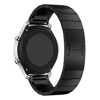 8e2b07a9f5b Pulseira de metal Magunivers aço inoxidável preto para Samsung Gear S3  Frontier S3 Classic - Bracelete Relógio - Compra na Fnac.pt