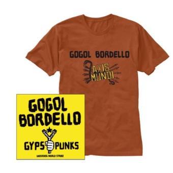 Gogol Bordello-Gypsy Punks -Cd+t-Shirt -Size M