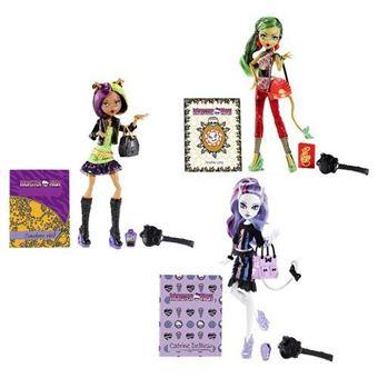 Sortido Bonecas Mattel Monster High com Acessórios
