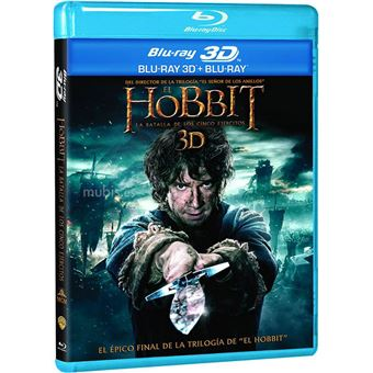 The Hobbit: The Battle of the Five Armies (3D + 2) / El Hobbit: La Batalla de los Cinco Ejércitos (4Blu-ray)