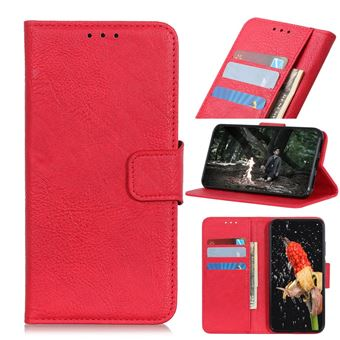 Capa PU vermelho para Samsung Galaxy A50