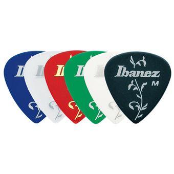 Ibanez BCI16M palheta Celuloide Preto, Azul, Verde, Cinzento, Vermelho, Branco 6 peça(s)