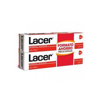Pasta de Dentes Lacer Antiplaque Anticaries 2X125ml