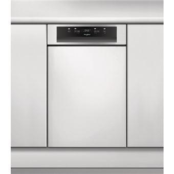 Máquina de Lavar Loiça Whirlpool WSBC 3M17 X 10 espaços conjuntos A+