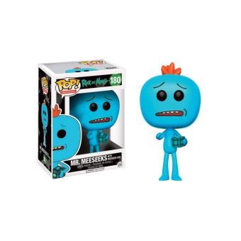 Funko Pop! Rick et Morty - Mr Meeseeks With Meeseeks Box Exclu Pop 10cm - 180